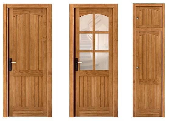 Puertas de interior en madera maciza y frentes de armario for Puertas madera maciza