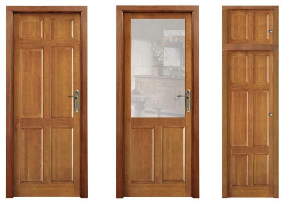 Puertas De Interior En Madera Maciza Y Frentes De Armario